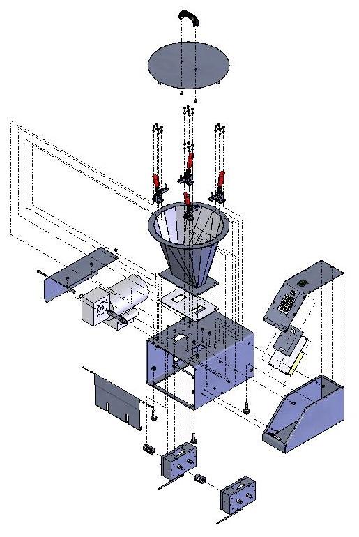 Схема дозатора начинки