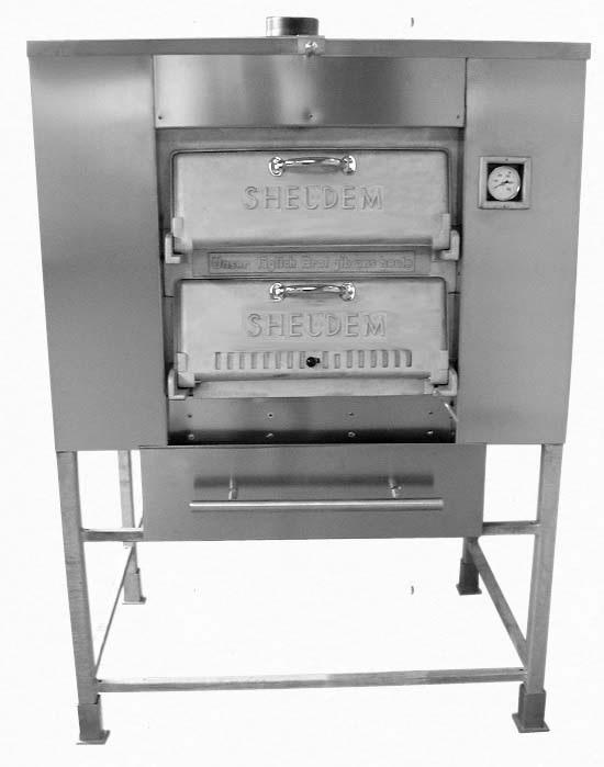 Дровяная печь SHELDEM - Модель 4