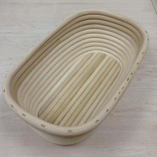 Форма овальная, 220х130х80 мм, Вес хлеба 350г
