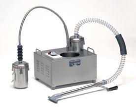 Настольный аппарат для фильтрации фритюрного масла
