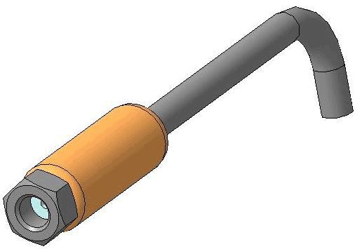 Насадка для ручного дозатора мёда