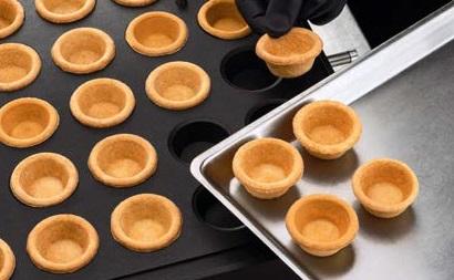 Тарталетки получающиеся на New Cookmatic