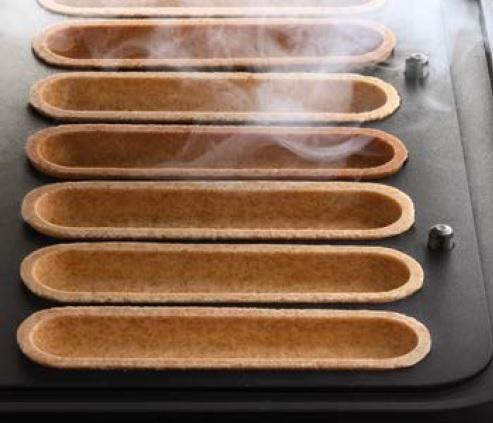 Тарталетки получающиеся на New Cookmatik