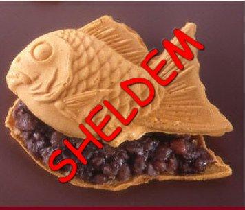 Вафля с начинкой Золотая рыбка